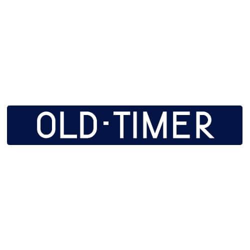 Oldtimer kentekenplaat